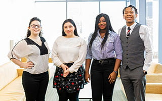 Four Roosevelt Students Receive Prestigious Inaugural Golin Fellowship