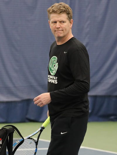 Roosevelt tennis coach Greg Couch