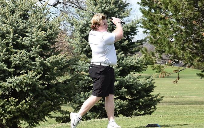Roosevelt golfer Jake Myers