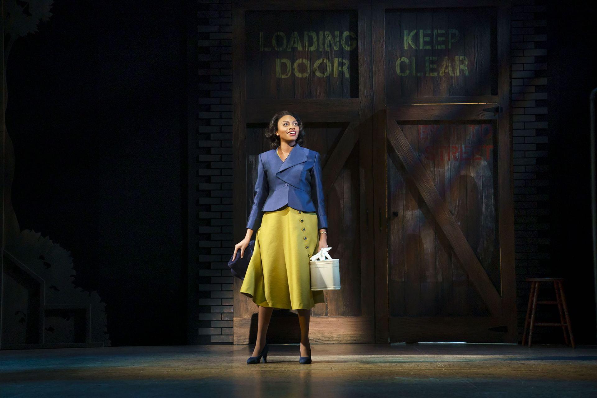 Walker plays Hattie in the Broadway revival of Kiss Me, Kate