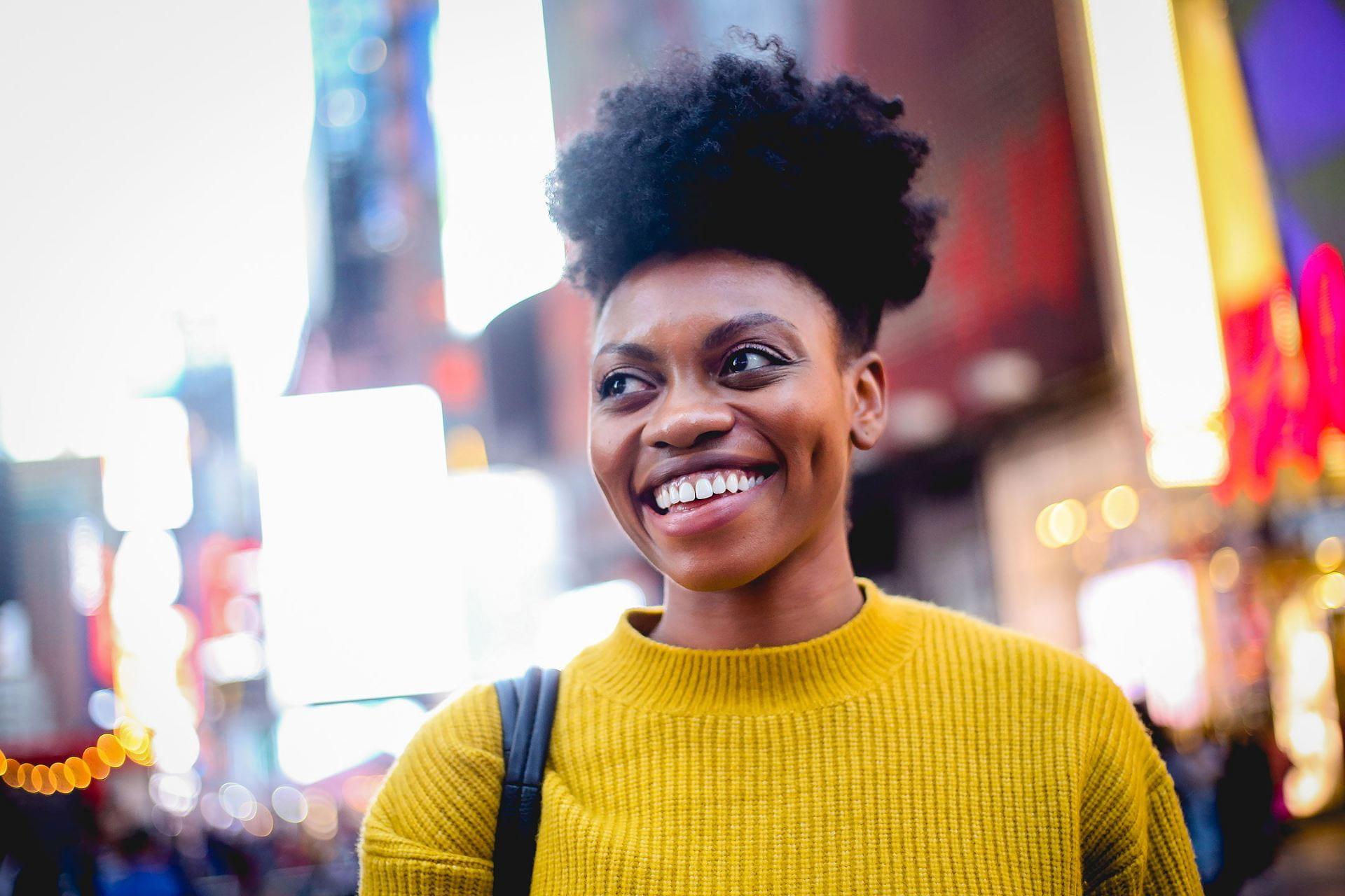 Adrienne Walker in New York City
