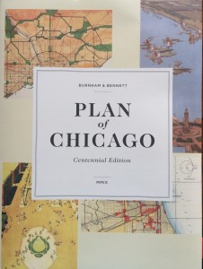 Plan of Chicago centennial cover