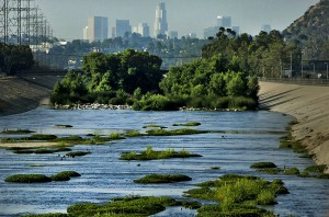 The LA River in 2010 (photo by Mark Boster of the LA Times)