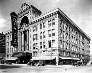 The Rialto Theatre, Joliet IL, c. the late 1920s (Photo: Legends of America)