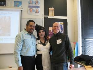 SUST majors Ron Taylor, Angi Cornelius, and Ken Schmidt at the 2013 Congress