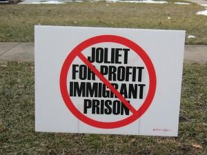 No-prison sign