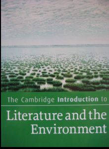 Cambridge Intro to Lit and Env