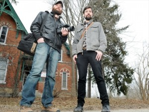 Kyle Lennan and Geoff Norris (photo: J. Liebregts, durhamregion.com)