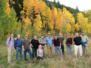 On a hike outside of Crested Butte CO, Sept 2014, during the Relative Wild writers' workshop