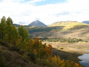 Slate River valley near Crested Butte, Sept 2014 (M. Bryson)