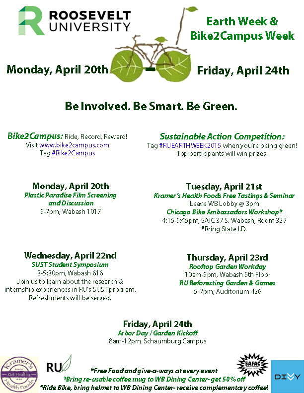 Earth Week 2015 at RU