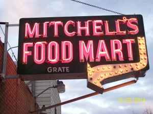 Mitchell's sign