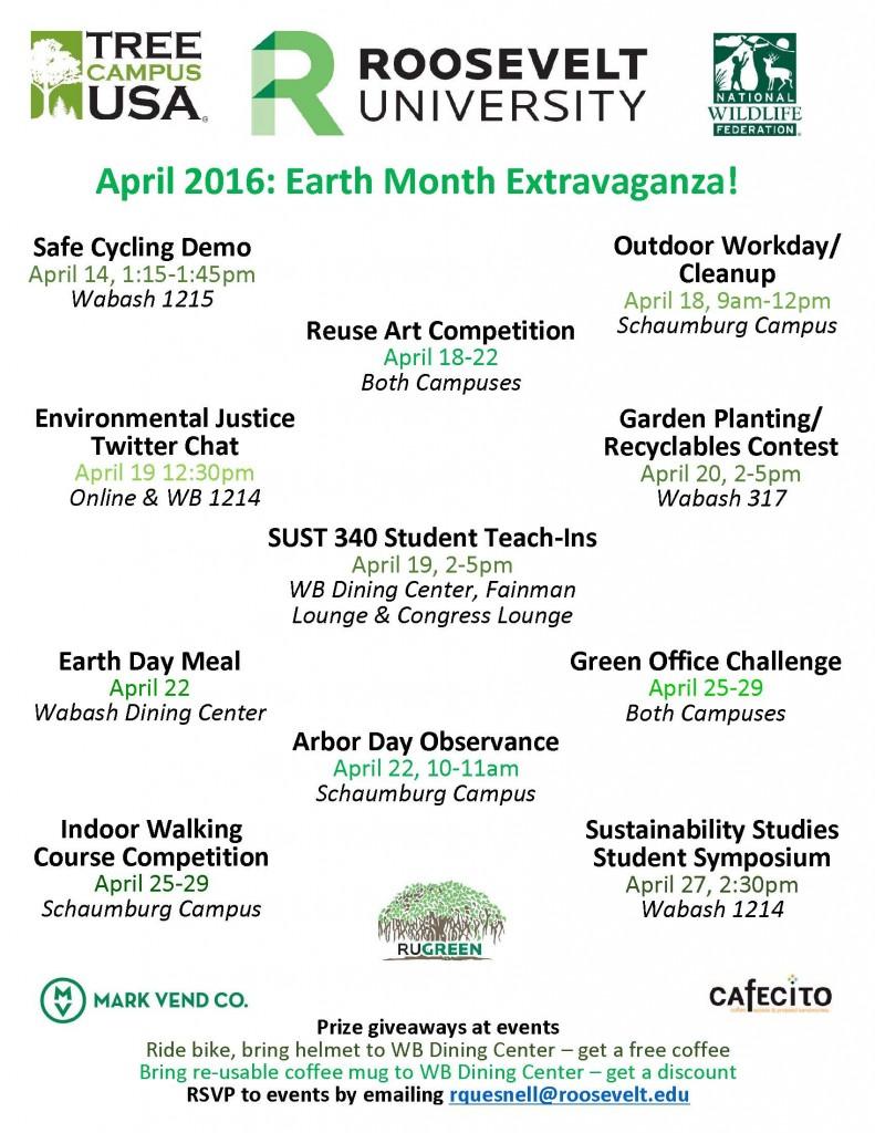 Earth Month Flyer RU 2016