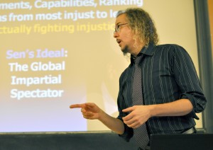 Stephen T Ziliak teaching in Paris
