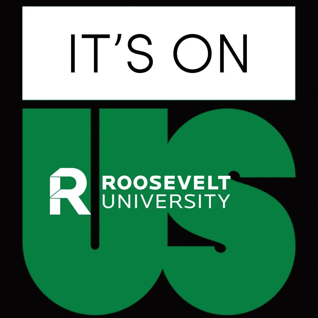 it's on us - university logo