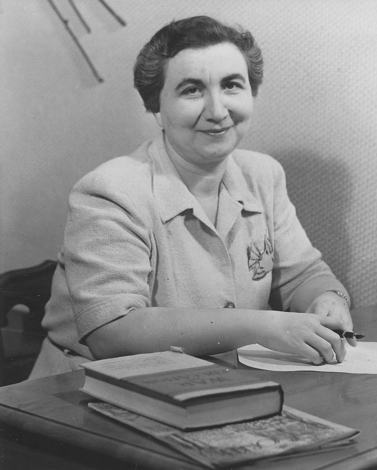 Frances Horwich Portrait