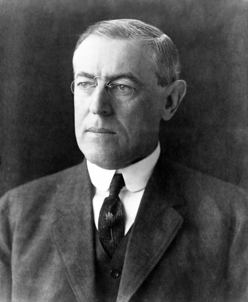 President Woodrow Wilson portrait