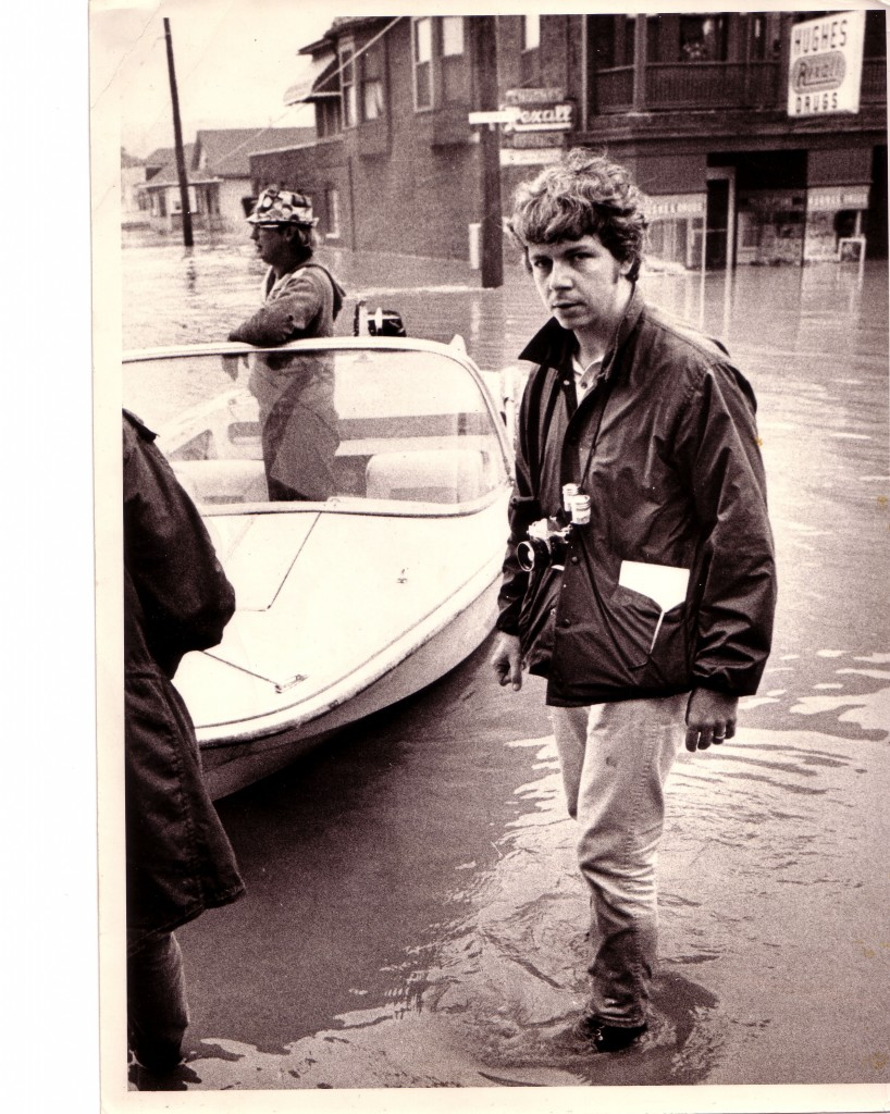 Madigan on assignment in 1972.