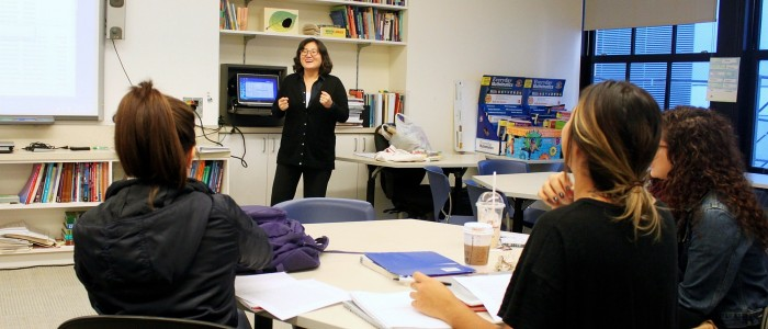 Teaching teachers: An education professor finds her mission