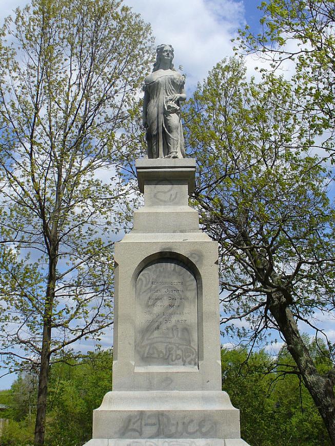 Hannah Statue