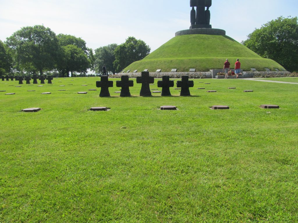La Cambe German war cemetery in Normandy