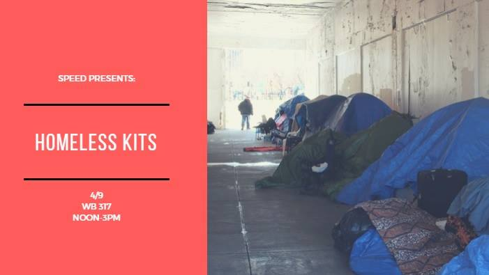 Social Justice Week - Create Homeless Kits