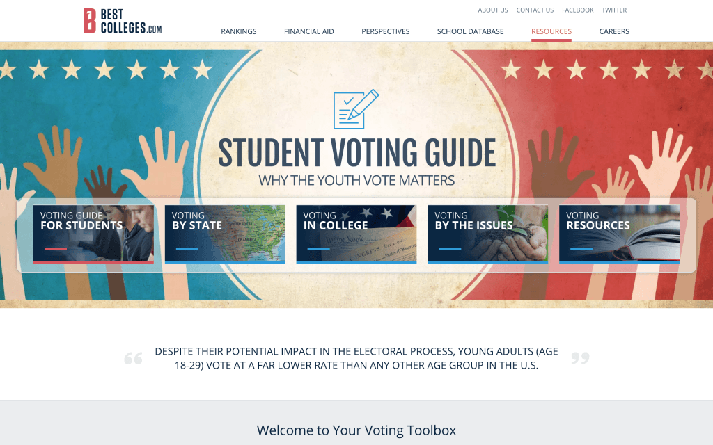 Student Voting Guide