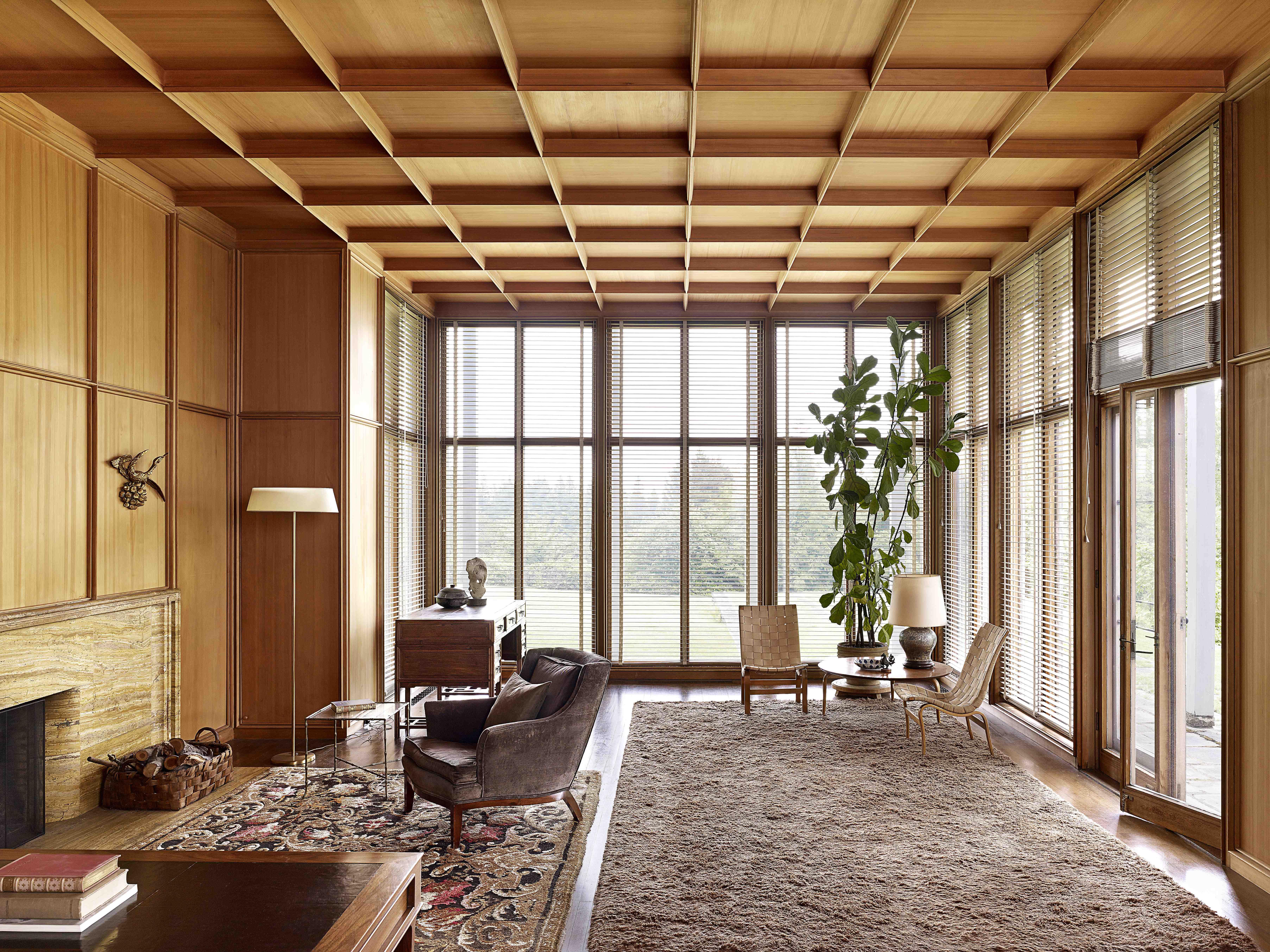 Watzek House livingroom