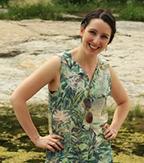 Shannon McKernan hiking.