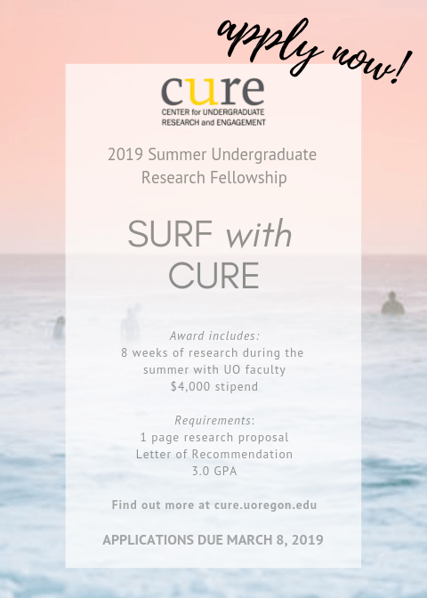 Come SURF with CURE!