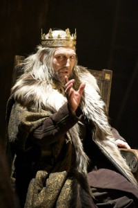 Royal Shakespeare's Greg Hicks as King Lear, 2010-2011. Photo by Manuel Harla