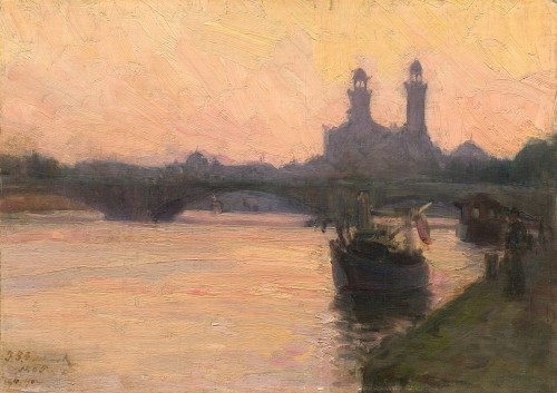 "Henry Ossawa Tanner, ""The Seine,"" 1902, National Gallery of Art"