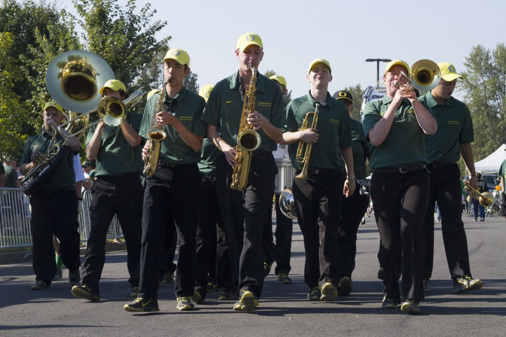 Garter Band Auditions | Oregon Athletic Bands