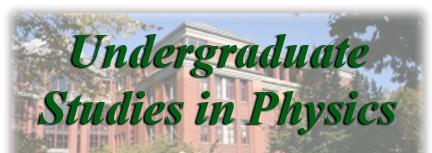 Undergrad Studies Logo
