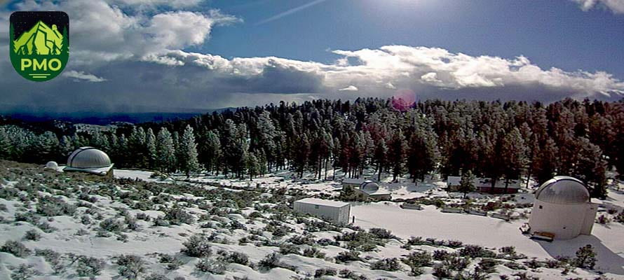 Winter at UO's Pine Mountain Observatory
