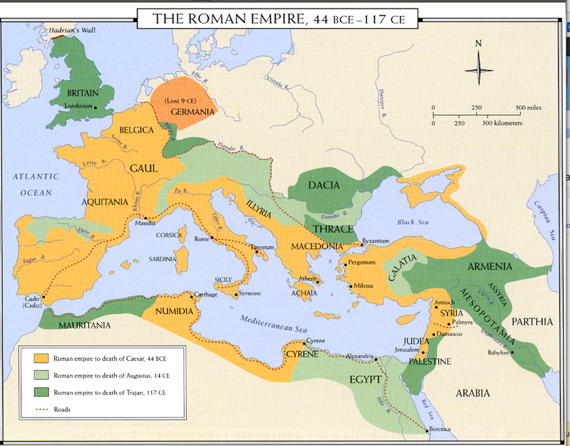 Roman Empire Timeline Map Roman Empire Map