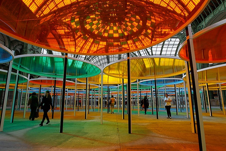 Artist works daniel buren - Exposition paris grand palais ...