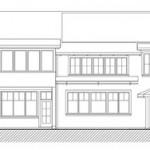 Spencer - South Elevation