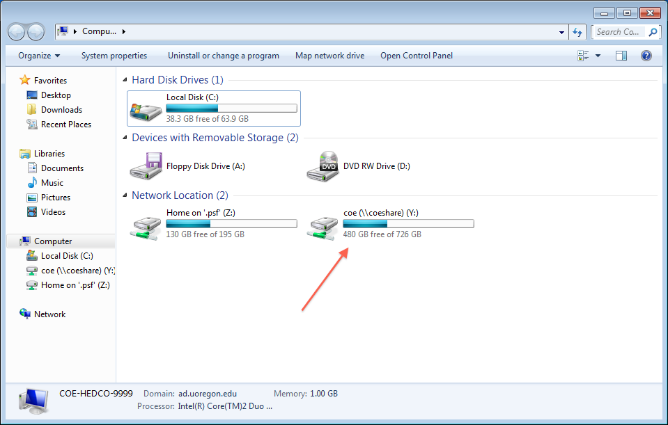 how to map a network drive windows 7 8 10 school of music