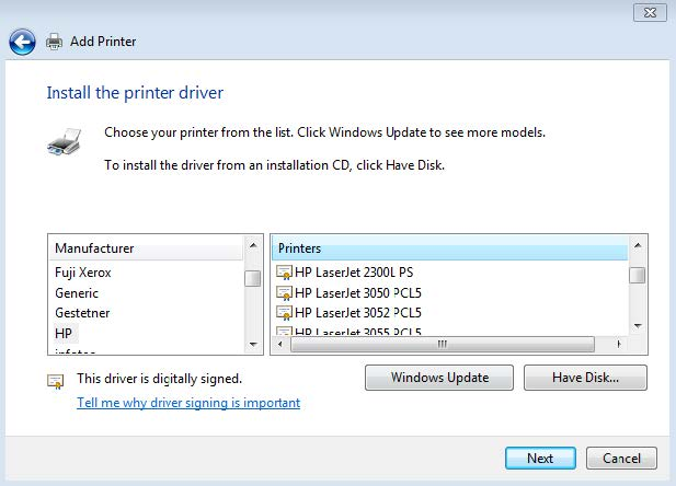 Adding a Printer Manually on Windows | College of Education Tech Help
