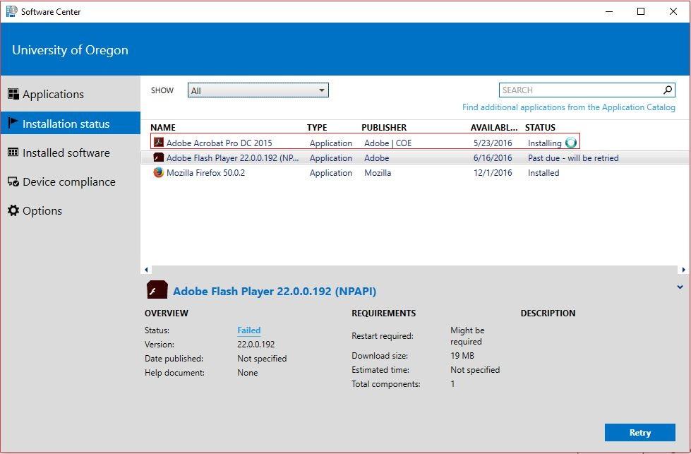 software center applications  u2013 sccm