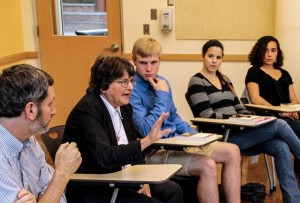 Sister Helen Prejean Visits with the CGO, Fall 2012