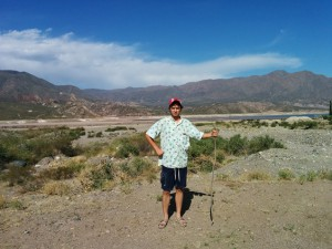 UO junior in Mendoza, Argentina.