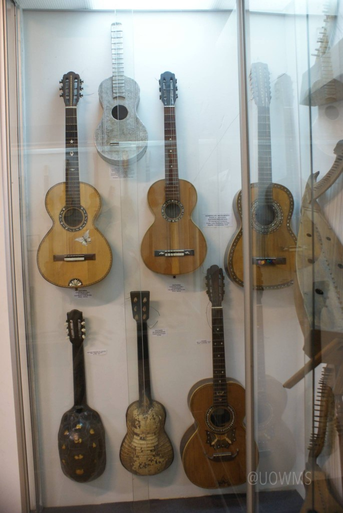 Display in Musical Instrument Museum, La Paz, Bolivia
