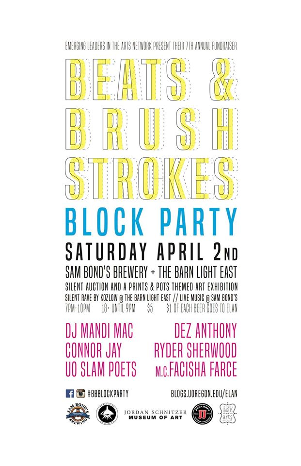 Beats and Brushstrokes 2016 Poster
