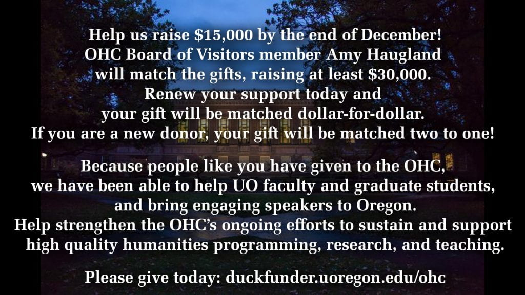 Help us raise $15,000 by the end of December!