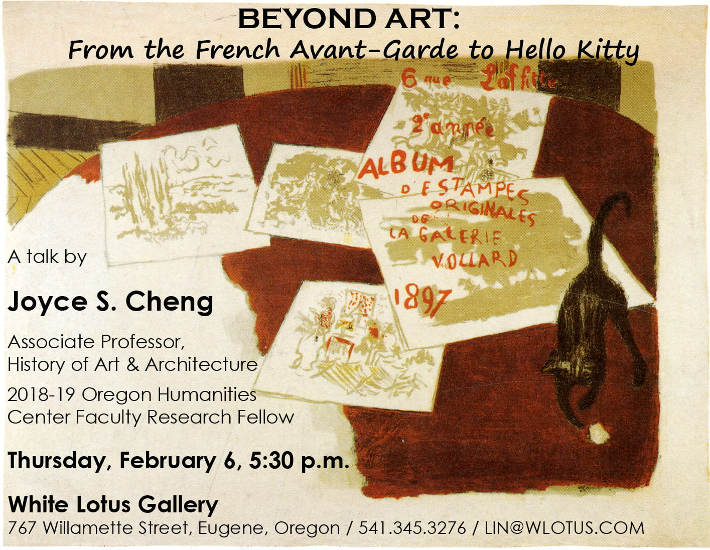 Beyond Art From The French Avant Garde To Hello Kitty Oregon