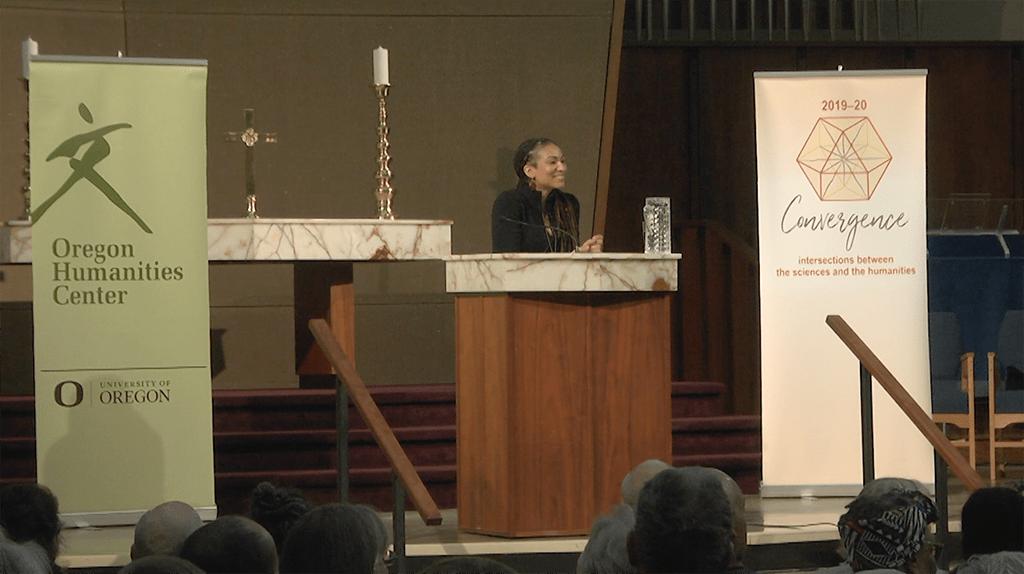 Ruha Benjamin speaking on 2/4/20
