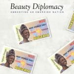 book cover: Beauty Diplomacy: Embodying an Emerging Nation