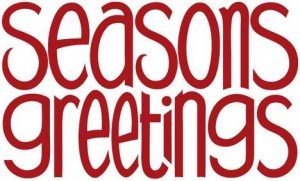 Season Greetings from the Staff at the Community Service Center